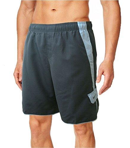 Men's Nike Volley Core Cargo Swim Shorts (Large, Charcoal/Grey Cargo)