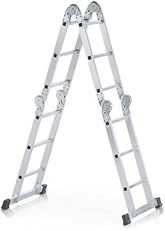 Zarges LM-escalera multiusos 4 x 3 peldaños Z500: Amazon.es: Bricolaje y herramientas