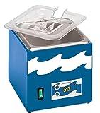 Edvotek 539 Stainless Steel Digital Waterbath, 1.8L Capacity, Ambient to 95 Degree C