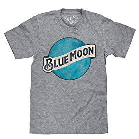 Blue Moon Brewing Company Color Logo Beer T Shirt ...