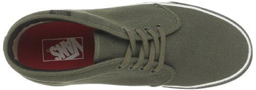 Vans - Zapatillas de deporte de tela unisex Verde (Vert (Heavy Canvas Ol))