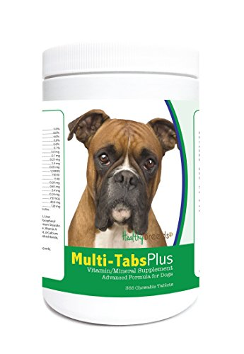Healthy Breeds Multi-Tabs Advanced Formula Vitamin & Mineral Daily Dietary Supplement for dogs