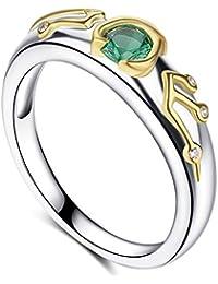 The Legend of Zelda Breath of The Wild Sheikah Slate Ocarina of Time Kokiris Emerald Link Engagement Ring