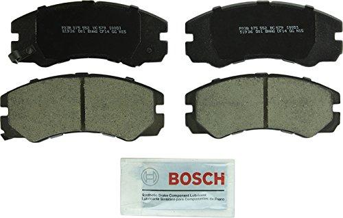 Bosch BC579 QuietCast Premium Ceramic Front Disc Brake Pad Set (Ceramic Couple)