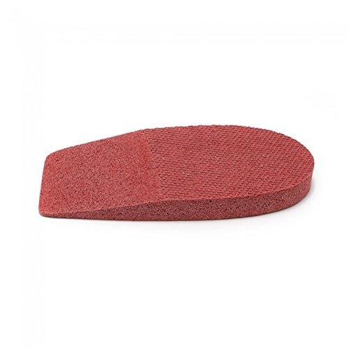 Rubber Heel LIft, 3/8'' (9mm) 1 Pair (Medium (2 1/2'' wide))