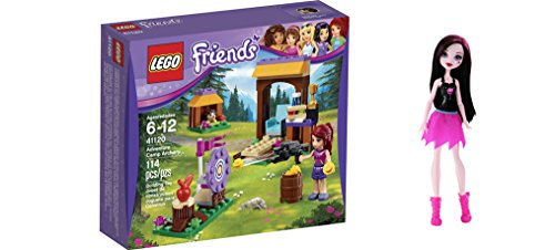 LEGO Friends Adventure Camp Archery 114 Pcs & free Gifts Ghoul Spirit Draculaura Doll (Colors may vary) Toys (Wedding Shooting Target compare prices)