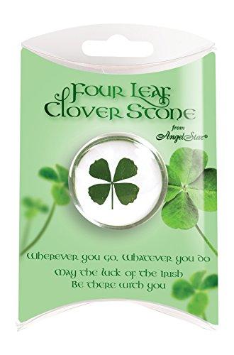Four Leaf Clover Stone ()