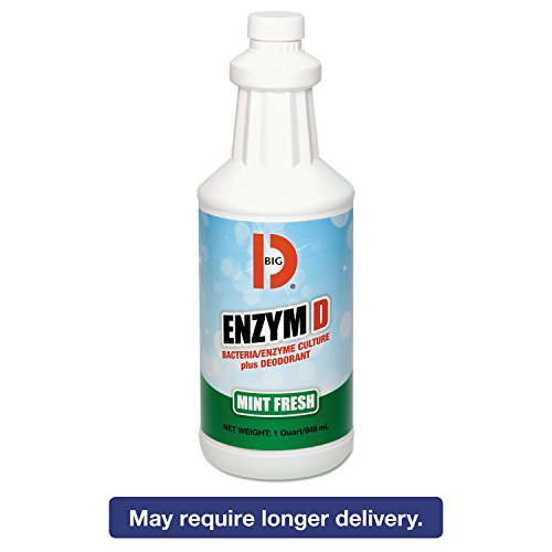 BGD504 - Enzym D Digester Deodorant, Mint, 1qt, (Big D Mint Deodorant)