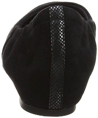 Rockport Total Motion 20mm Hidden Wedge, Ballerines Femme Noir (Black)