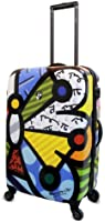 Heys USA Luggage Britto Butterfly 26 Inch Hard Side Suitcase