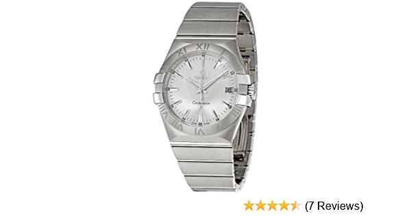 59e63234c6afc Amazon.com  Omega Men s 123.10.35.60.02.001 Constellation 09 Silver Dial  Watch  Omega  Watches