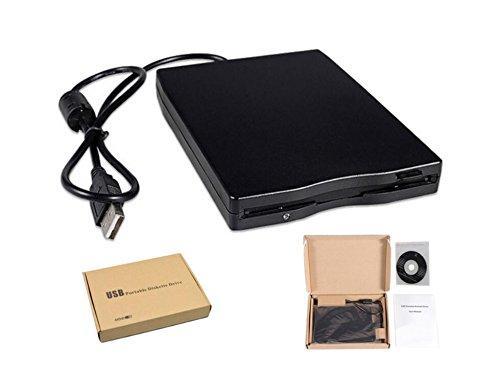 'haoyis Hang 3, 5 –  Disquetera Externa USB 2.0 Portá til 1.44 MB Lector FDD PC Laptop 5-Disquetera Externa USB 2.0Portátil 1.44MB Lector FDD PC Laptop HaoYiShang