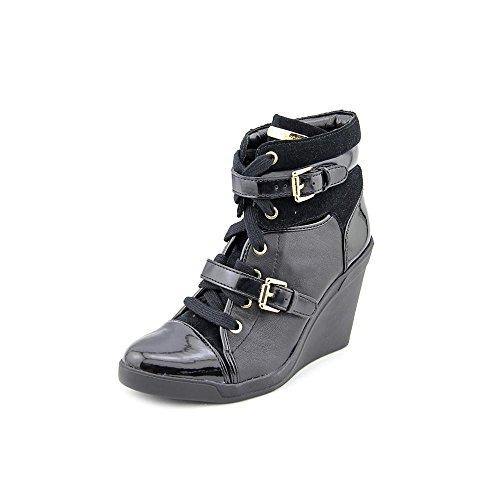Michael Michael Kors Girl's Skid Wedge Black Boot 8.5 M