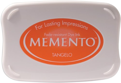 Tsukineko Full-Size Memento Fade Resistant Inkpad, Tangelo