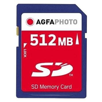 tarjeta de memoria sd 512mb