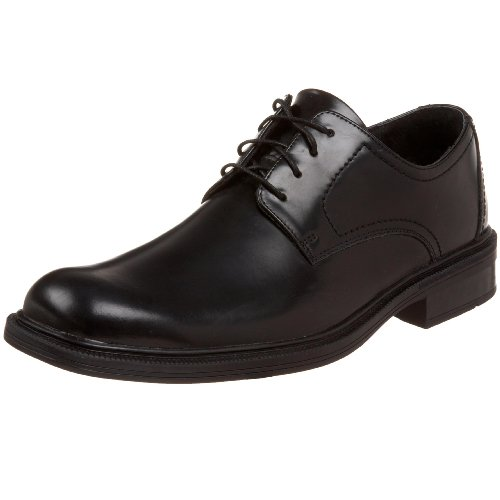 Bostonian Mens Landsford Plain-teen Lace-up Black Shine