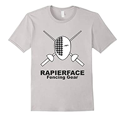 Rapier Face White Mask T-Shirt