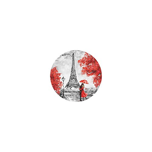 InterestPrint Eiffel Tower Lover Neoprene Water Bottle Sleeve Insulated Holder Bag 16.90oz-21.12oz, Paris Oil Painting Sport Outdoor Protable Cooler Carrier Case Pouch Cover with Handle by InterestPrint (Image #5)