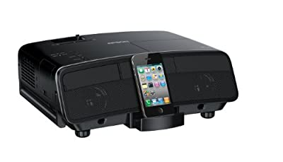 Epson MegaPlex MG-50 520p 3LCD Portable Digital Dock Projector and Speaker Combo For iPod, iPhone and iPad (V11H445020)