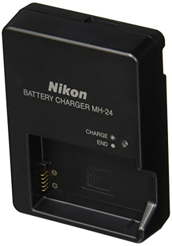 Nikon MH-24 Quick Charger for EN-EL14 Li-ion Battery compatible with Nikon D3100 DSLR, D5100 DSLR, and P7000 Digital Cameras (Nikon D3100 Camera)