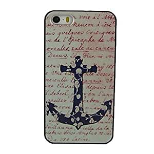 MOM Flower Ship Rudder Design Pattern Hard Case for iPhone 5/5S