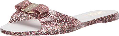 Salvatore Ferragamo Women's Cirella Slider Sandal Multicolor 9 C US ()