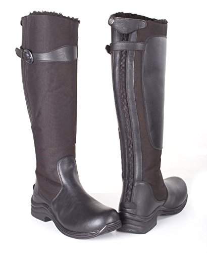 Toggi Chinook Fleece Lined Boot, Botas de Equitación Unisex Adulto negro