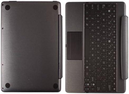 Skinomi Brushed Steel Skin for Asus EEE Pad Transformer Prime TF201 Keyboard