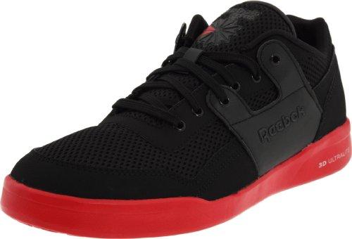 Entraînement Pour Hommes Reebok Plus Sneaker Classique Ultralite Noir / Havana Rouge / Argent Pur