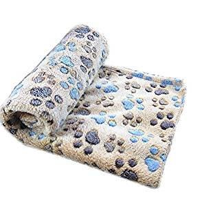 TO_GOO Suave Manta Impresa para Mascotas Cojín para Mascotas Estera para Dormir Mascota de Invierno Cálida Manta para Mascotas: Amazon.es: Productos para ...