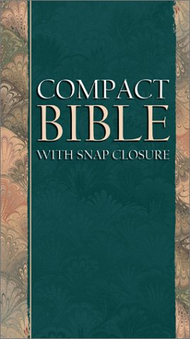 KJV Compact Bible: With Snap Closure from Brand: Barbour Publishing, Incorporated