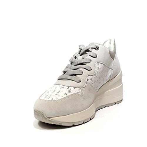 Damen Weiß D C Geox Zosma Sneaker PXwax