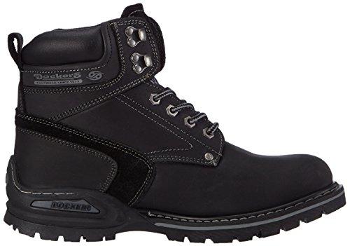 Dockers 27YN006 - Botas de cuero para hombre negro - negro