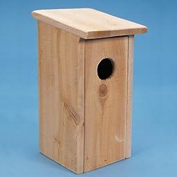 Bird Nesting Box Kit, Easy-to-Assemble