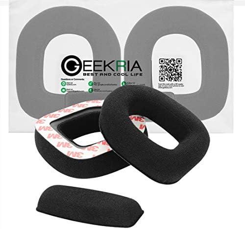 Geekria 交換用イヤーパッド Astro A10 ヘッドホンイヤーパッド + ヘッドバンドパッド/イヤークッション/イヤーカップ/イヤーカバー/イヤーパッド + ヘッドバンドクッション修理部品 (リント)
