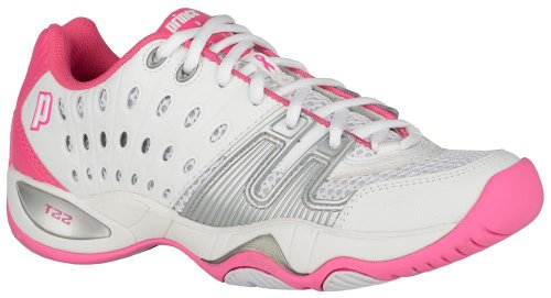 Prince T22 Women's Tennis Shoes White/Pink Size 10.5