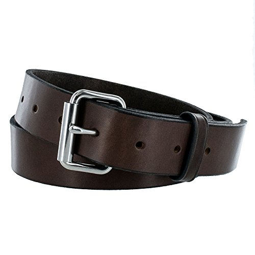 Hanks Gunner - Concealed Carry - EDC Belt - 100 Year Warranty USA Made - Brown - 42