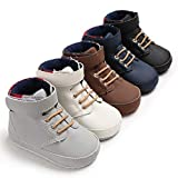 Infant Baby Boy Shoes Newborn High Top Toddler