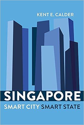 singapore smart city smart state kent e calder 9780815729471