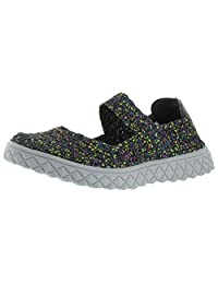 Moda Essentials Sport Women's Woven Mary Jane Sneakers Shoes