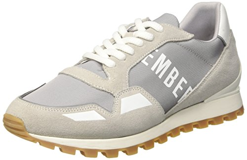 0 Men's Bikkembergs Grey Trainers 2086 450 White Er Grey Fend SpzrBnS