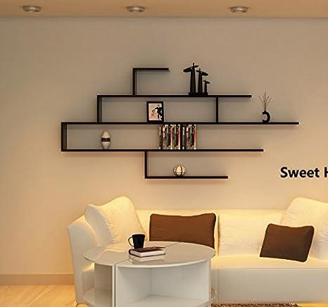 Amazon.com: Wall Mount Floating Shelves Display Bedroom ...