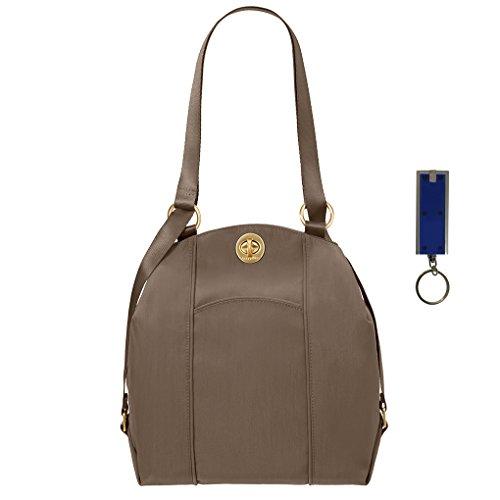 Mendoza Purse Baggalini or Portobello Backpack Key Bundle Light Handbag w Purse Convertible Shoulder Chain TSSqp