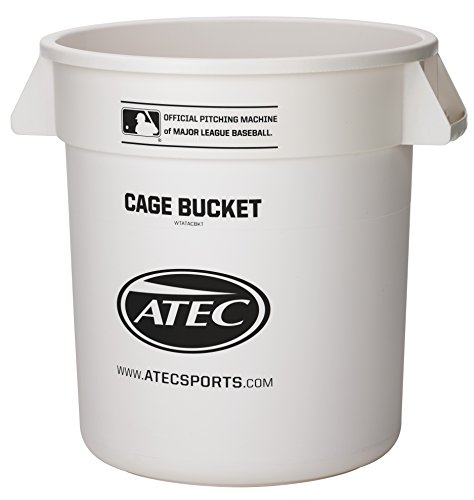 ATEC Hi Per Lite Foam Softball/Cage Bucket (Atec Softballs)