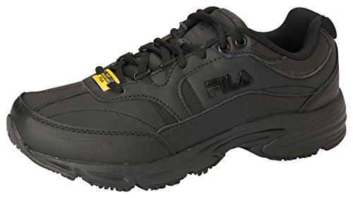 Fila Women's Memory Workshift Cross-Training Shoe,Black/Black/Black,7 M US