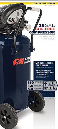 Campbell Hausfeld Air Compressor, 26-gallon Vertical Oil-free (DC260000)