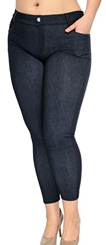 Simplicity Womens Stretchy Jeggings Pockets