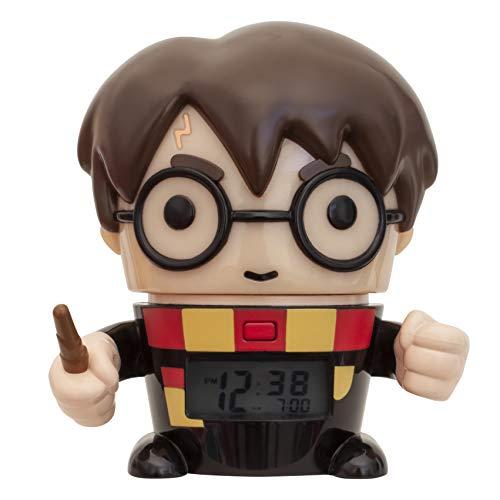 Harry Potter Clock - Bulb Botz Harry Potter Alarm Clock, Black