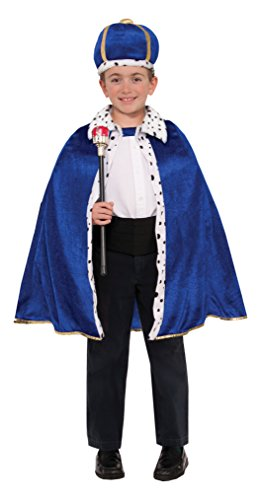 Forum Novelties King Robe and Crown Set, Multicolor, One Size (King Of The Kingdom Boys Costume)