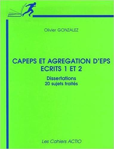 méthodologie dissertation agrégation eps